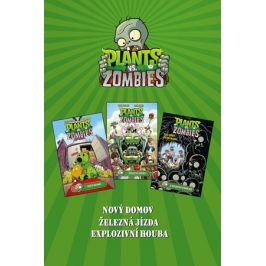 Plants vs. Zombies BOX zelený | kolektiv