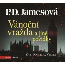Vánoční vražda a jiné povídky (audiokniha) | P.D. James, Kateřina Veselá
