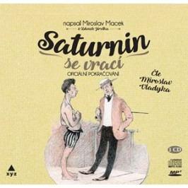 Saturnin se vrací (audiokniha) | Mirek Vladyka, Petr Faltus, Miroslav Macek
