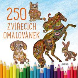 250 zvířecích omalovánek |