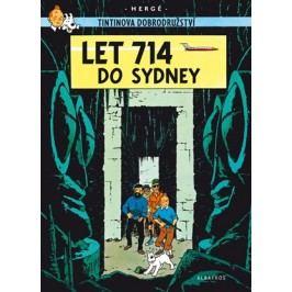 Tintin 22 - Let 714 do Sydney | Hergé, Hergé, Kateřina Vinšová