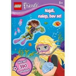 LEGO® Friends Najdi, nalep, bav se! | kolektiv