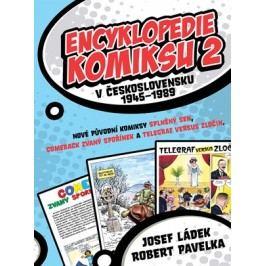 Encyklopedie komiksu v Československu 1945–1989 2 | Josef Ládek, Robert Pavelka