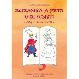 Zuzanka a Petr v bludišti  - Udělej si vlastní knížku   Martina Drijverová