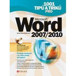 1001 tipů a triků pro Microsoft Word 2007/2010 | Jana Dannhoferová