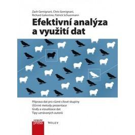 Efektivní analýza a využití dat   Zach Gemignani, Chris Gemignani, Richard Galentino, Patrick Schuermann