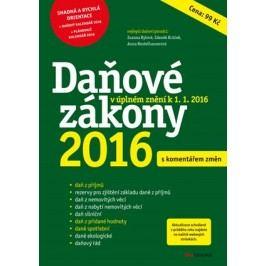 Daňové zákony 2016 | Zdeněk Krůček, Zuzana Rylová, Anna Beutelhauserová