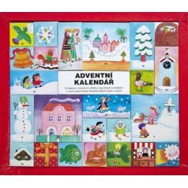 Adventní kalendář - 24 leporel s vánoční | Ivana Pecháčková, Jarmila Marešová