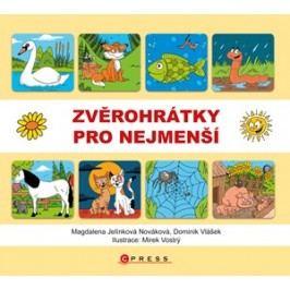 Zvěrohrátky pro nejmenší | Magdalena Jelínková Nováková, Mirek Vostrý