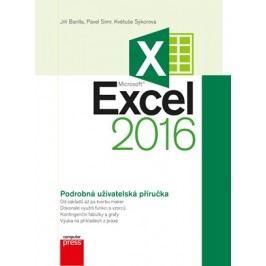 Microsoft Excel 2016 Podrobná uživatelská příručka | Květuše Sýkorová, Jiří Barilla, Pavel Simr