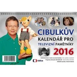 Cibulkův kalendář pro televizní pamětníky 2016 | Aleš Cibulka