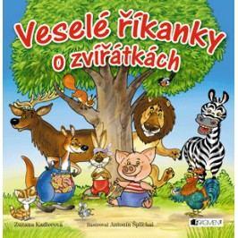 Veselé říkanky o zvířátkách   Zuzana Kadlecová