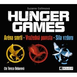 HUNGER GAMES – komplet (audiokniha) | Suzanne Collins