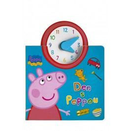 Peppa - Bav se s Pepinou - Den s Peppou (kniha s hodinami)  