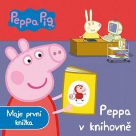 Peppa Pig - Peppa v knihovně - Moje první knížka |