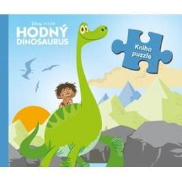 Hodný dinosaurus - kniha puzzle | autora nemá