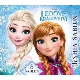 Ledové království Kniha šablon |