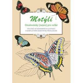 Motýli - omalovánky (nejen) pro velké | Peter Lindmark