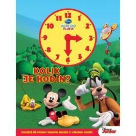 Mickeyho klubík - Kolik je hodin? (kniha s hodinami) | Walt Disney, Walt Disney