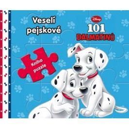 101 Dalmatinů - Veselí pejskové - Kniha puzzle | Walt Disney, Walt Disney