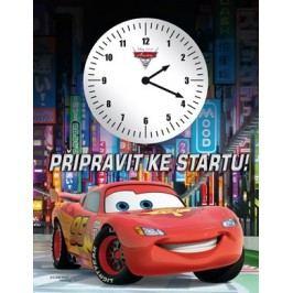 Auta 2 - Připravit ke startu! (kniha s hodinami) |  Pixar,  Pixar