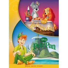 Lady a Tramp/Petr Pan - Moje první čtení | Walt Disney, Walt Disney
