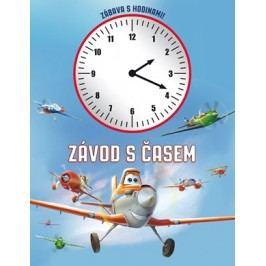 Letadla - Závod s časem (kniha s hodinami) | Walt Disney, Walt Disney
