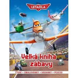 Letadla - Velká kniha zábavy - čtení, omalovánky, hádanky, pexexo | Walt Disney, Walt Disney