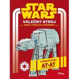 Star Wars - Válečný stroj - kniha s modelem a hádankami |  Lucas