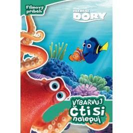 Hledá se Dory - Filmový příběh - Vybarvuj, čti si a nalepuj |  Pixar,  Pixar