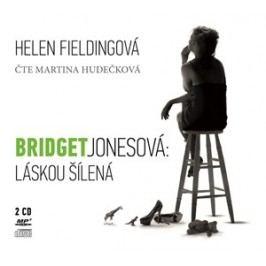 Bridget Jonesová: Láskou šílená (audiokniha) | Helen Fieldingová, Barbora Punge Puchalská, Martina Hudečková