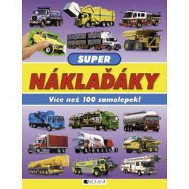 Super náklaďáky – Více než 100 samolepek!   Paul Calver