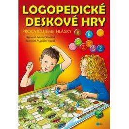 Logopedické deskové hry – Procvičujeme hlásky L, CSZ, ČŠŽ, R a Ř | Ivana Novotná, Růžek Miroslav
