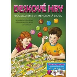 Deskové hry. Procvičujeme vyjmenovaná slova - B, L, M, P, S, V, Z | Eva Mrázková, Jan Šenkyřík, Růžek Miroslav