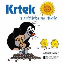 Krtek a zvířátka na dvoře (100x100) | Zdeněk Miler, Milena Fischerová