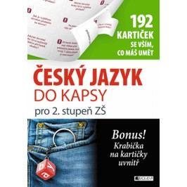 Český jazyk do kapsy pro 2. stup. ZŠ  (192 kartiček) | Jana Eislerová
