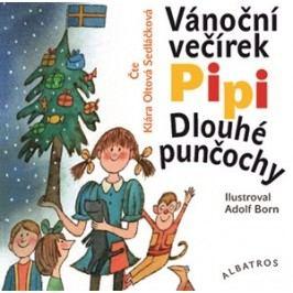 Vánoční večírek Pipi Dlouhé punčochy (audiokniha pro děti)   Astrid Lindgrenová