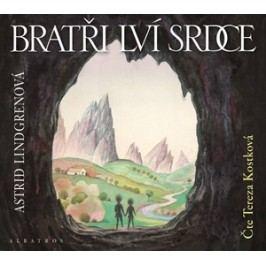 Bratři Lví srdce  (audiokniha pro děti) | Tereza Kostková, Astrid Lindgrenová