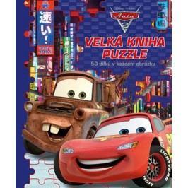 Auta - Velká kniha puzzle |