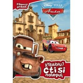 Auta - Filmový příběh - Vybarvuj, čti si, nalepuj |  Pixar,  Pixar