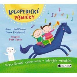 Logopedické písničky (audio CD pro děti) | Michaela Bergmannová, Jana Havlíčková, Ilona Eichlerová, Petr Stach