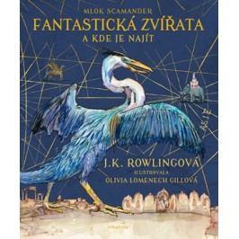 Fantastická zvířata - ilustrované vydání | J. K. Rowlingová, Pavel Medek