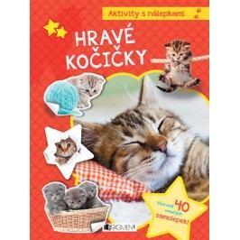 Aktivity s nálepkami – Hravé kočičky | kolektiv