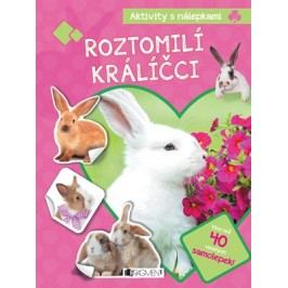 Aktivity s nálepkami – Roztomilí králíčci | kolektiv