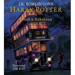 Harry Potter a vězeň z Azkabanu - ilustrované vydání | J. K. Rowlingová, Pavel Medek, Jim Kay