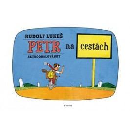 Retroomalovánky - Petr na cestách | Rudolf Lukeš