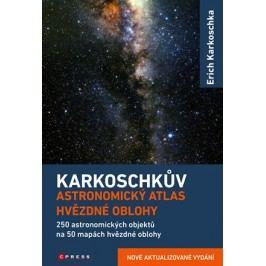 Karkoschkův astronomický atlas hvězdné oblohy | Erich Karkoschka