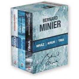 3 x Bernard Minier - box Mráz, Kruh, Tma | Bernard Minier