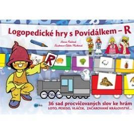 Logopedické hry s Povídálkem – R | Hana Fialová, Edita Plicková