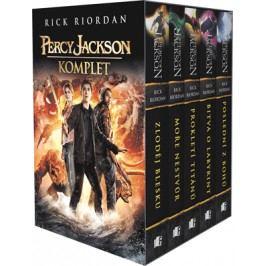 PERCY JACKSON - komplet 1.-5.díl - box |